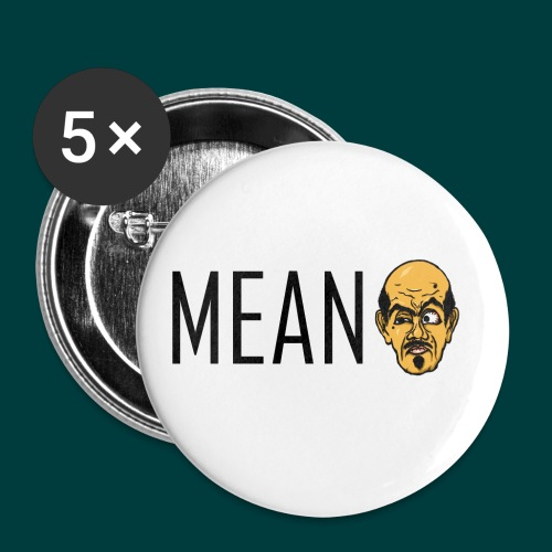 Mean. - Buttons small 1'' (5-pack)