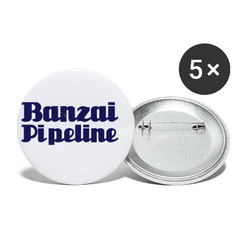 The Legendary Banzai Pipeline - North Shore - Oahu - Buttons small 1'' (5-pack)