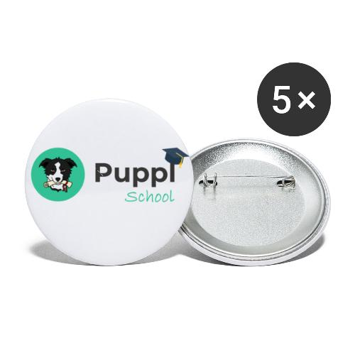 Puppl School - Full - Version 1 - Buttons small 1'' (5-pack)