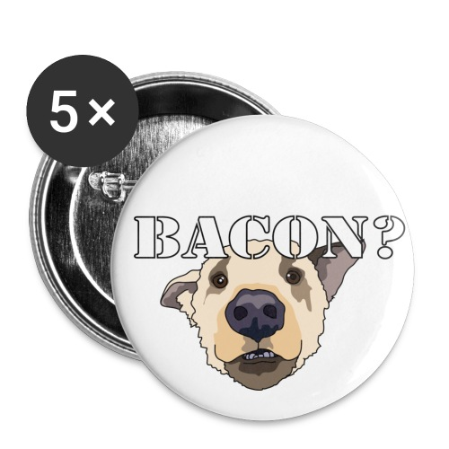baconlarge - Buttons small 1'' (5-pack)