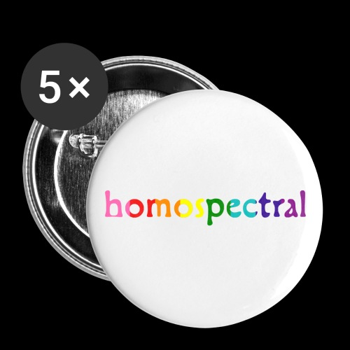 homospectral - Buttons small 1'' (5-pack)