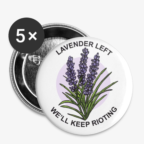 lavender left - Small Buttons