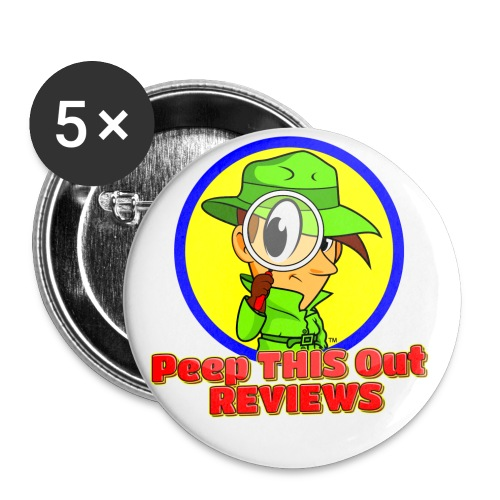 Peep THIS Out Half Logo - Buttons small 1'' (5-pack)