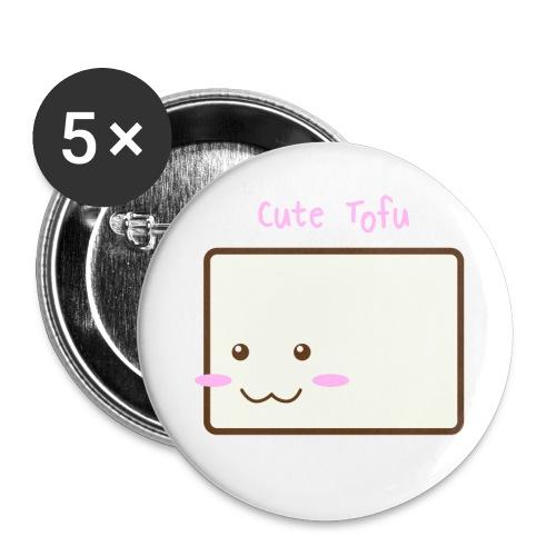 Cute Tofu Original - Buttons small 1'' (5-pack)