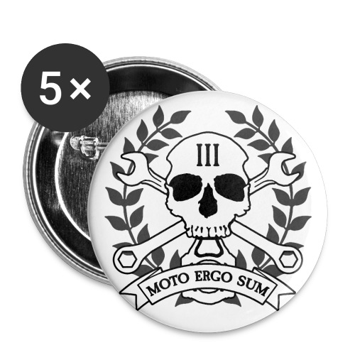 Moto Ergo Sum - Buttons small 1'' (5-pack)
