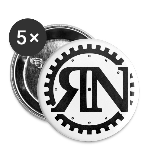 Riveting News - Buttons small 1'' (5-pack)