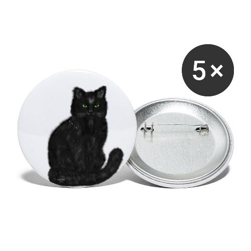 Cat Isabeau - Buttons small 1'' (5-pack)