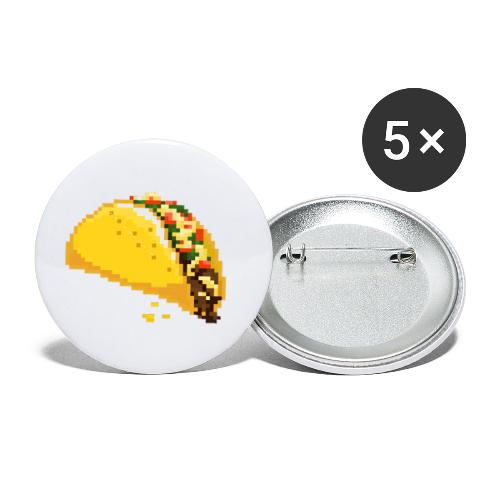 TacoShack Merch - Buttons small 1'' (5-pack)