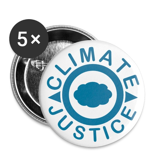Climate Justice - Buttons small 1'' (5-pack)