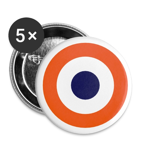 France Symbol - Axis & Allies - Buttons small 1'' (5-pack)