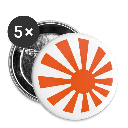 Japan Symbol - Axis & Allies - Buttons small 1'' (5-pack)