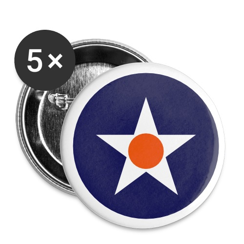 USA Symbol - Axis & Allies - Buttons small 1'' (5-pack)