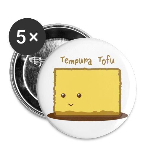 Cute Tofu Tempura - Buttons small 1'' (5-pack)