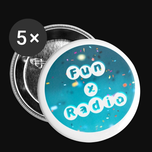 FXR pins - Buttons small 1'' (5-pack)