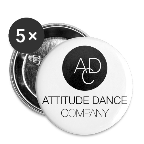 ADC Logo - Buttons small 1'' (5-pack)