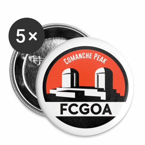 FCGOA - Buttons small 1'' (5-pack)