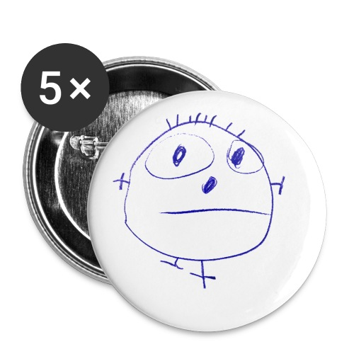 PICCOLO FACE - Buttons small 1'' (5-pack)