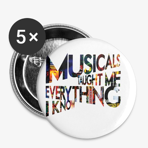 MTMEIK Broadway - Buttons small 1'' (5-pack)