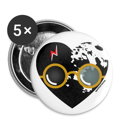 Spotted.Horse - Buttons small 1'' (5-pack)