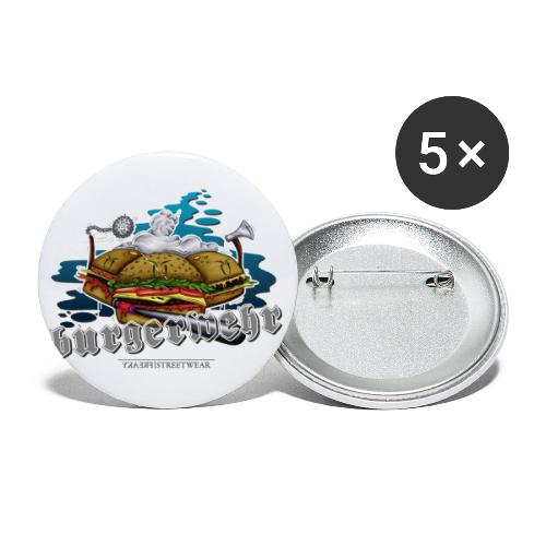 militia - Buttons small 1'' (5-pack)