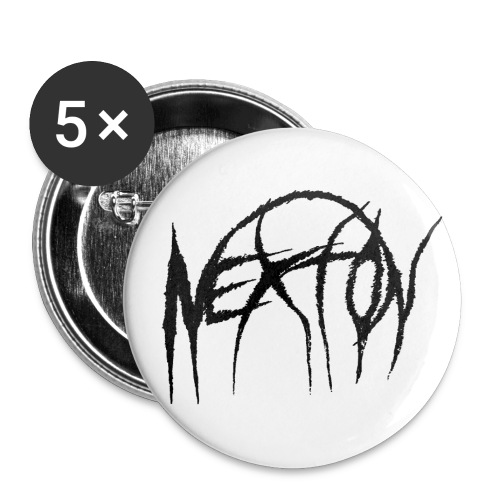 NEXTON OFFICIAL LOGO - Buttons small 1'' (5-pack)