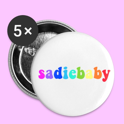 rainbow sadiebaby - Small Buttons