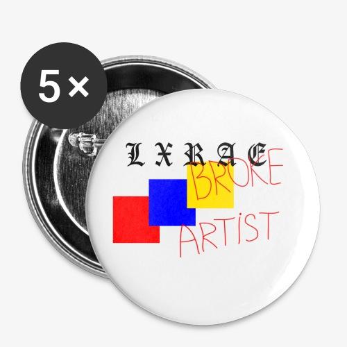 BROKE ARTIST - Small Buttons
