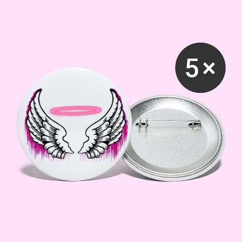 angel wings logo - Buttons small 1'' (5-pack)