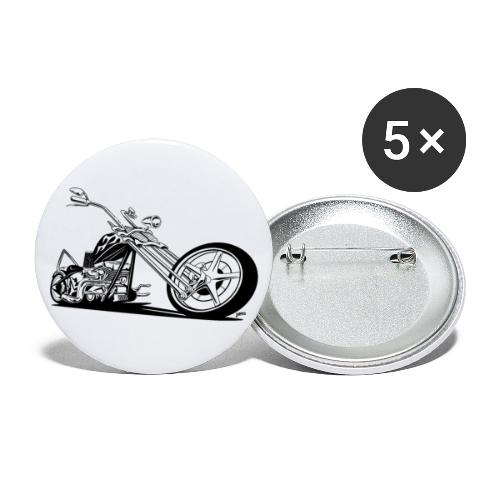 Custom American Chopper Motorcycle - Buttons small 1'' (5-pack)