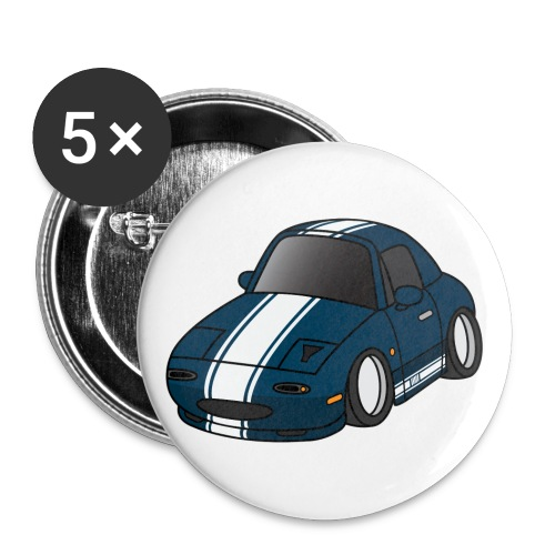 Sharka frontview - Buttons small 1'' (5-pack)
