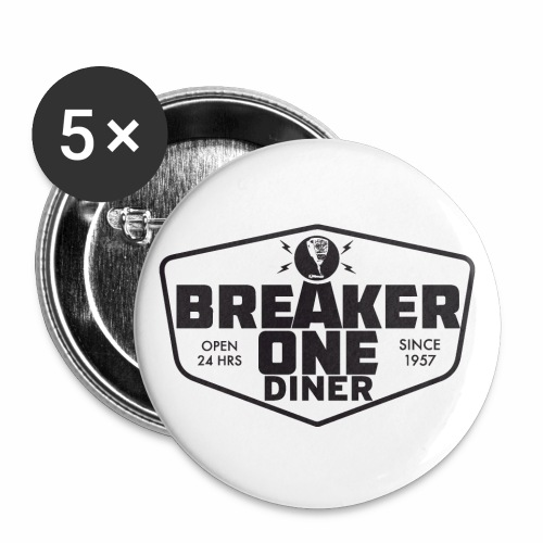 Breaker One Dinerware - Small Buttons
