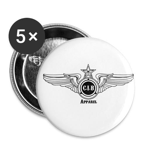 CIB Flight Club - Buttons small 1'' (5-pack)