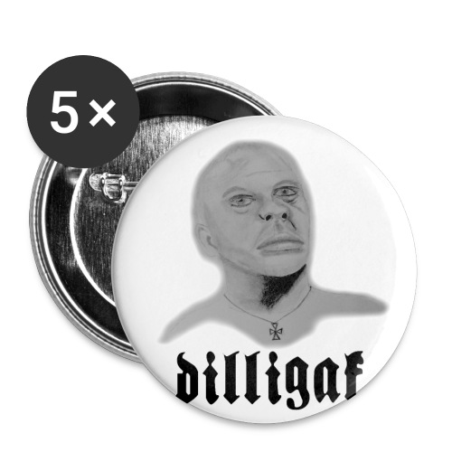 DILLIGAF - Buttons small 1'' (5-pack)