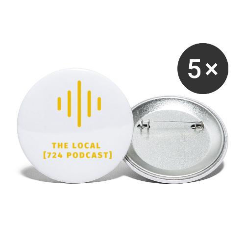 The Local Simple - Buttons small 1'' (5-pack)