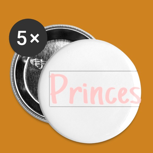 Princes!!! - Buttons small 1'' (5-pack)