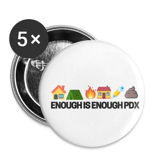 Enough is Enough Campaign Classic Design - Small Buttons