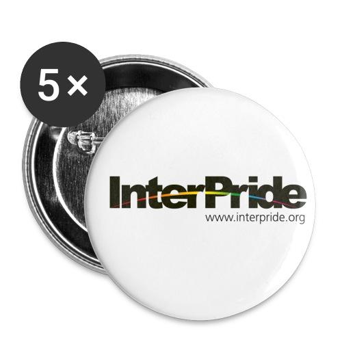 interpride web address tranparent - Buttons small 1'' (5-pack)