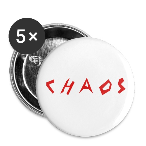C H A O S Baseball Cap - Buttons small 1'' (5-pack)