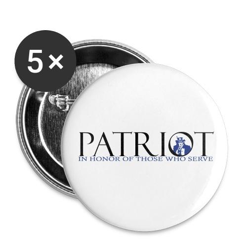 PATRIOT_SAM_USA_LOGO - Buttons small 1'' (5-pack)
