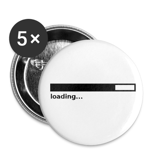 loading - Buttons small 1'' (5-pack)