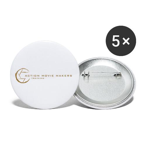 AMMT Logo Modern Look - Buttons small 1'' (5-pack)