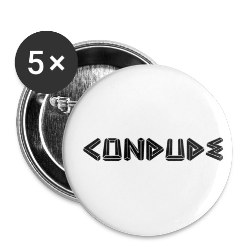 blackout - Buttons small 1'' (5-pack)