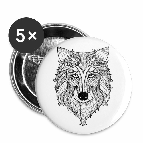 Classy Fox - Buttons small 1'' (5-pack)