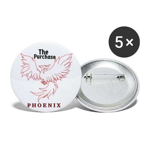 Sketched Phoenix Logo - Buttons small 1'' (5-pack)