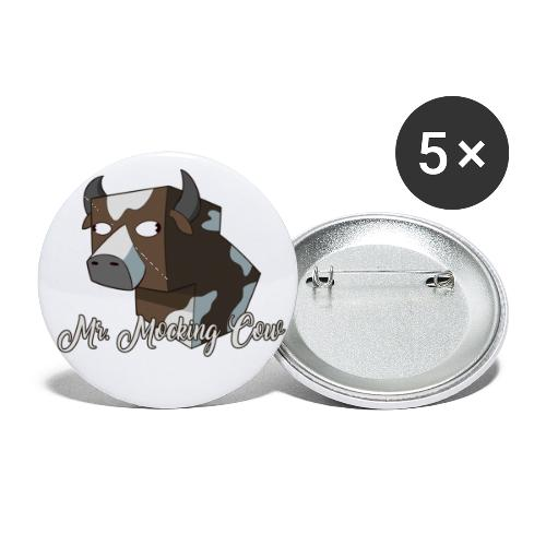 cow1 png - Buttons small 1'' (5-pack)