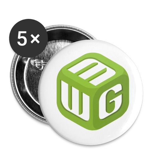Steve Sized MWG T-Shirt (3XT) - Buttons small 1'' (5-pack)