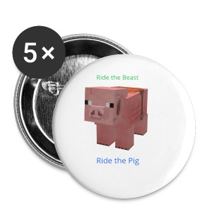 Pig Beast - Small Buttons