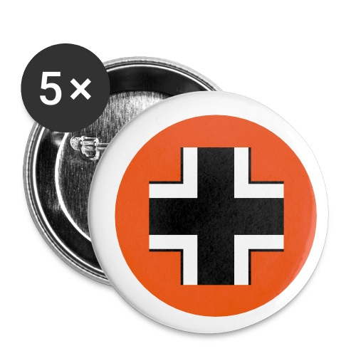 Germany Symbol - Axis & Allies - Buttons small 1'' (5-pack)