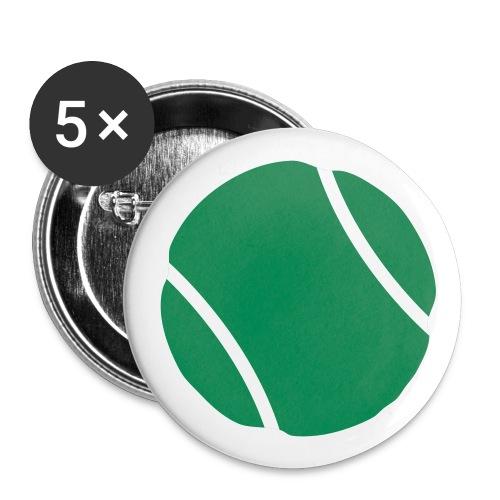 tennis ball - Buttons small 1'' (5-pack)