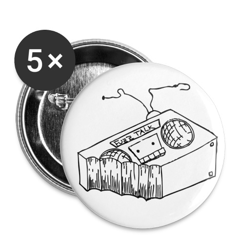 FTRLogoBlack png - Buttons small 1'' (5-pack)